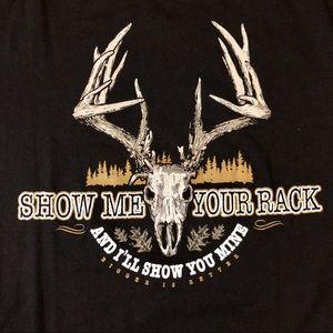 Legendary Men's T-Shirt: Show Me Your Rack black M
